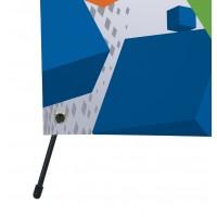 X  баннер 80 х 180 см - купить в avanpromo